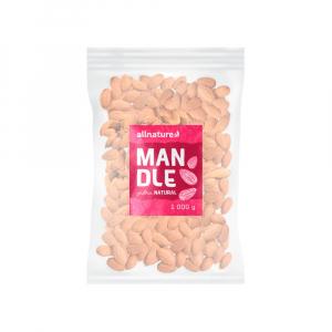 ALLNATURE Mandle jádra neloupaná 1000 g