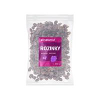 ALLNATURE Rozinky sultánky 1000 g
