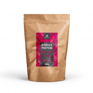 ALLNATURE Rýžový protein 80% BIO 200 g