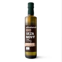 ALLNATURE Sezamový olej 250 ml BIO