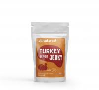ALLNATURE Turkey pepper Jerky sušené maso 25 g
