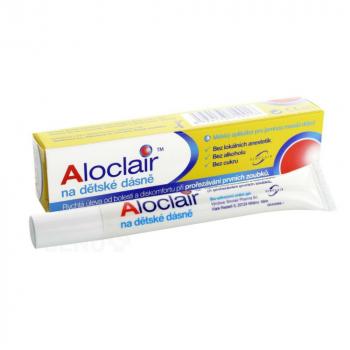 ALOCLAIR gel na dětské dásně 10 ml