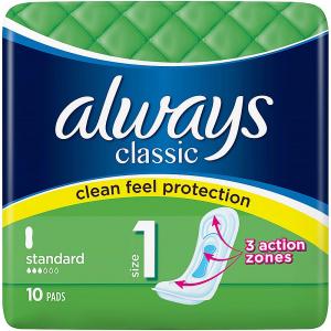 ALWAYS Classic Standard Hygienické vložky 10 ks