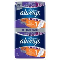 ALWAYS Platinum Normal vel.1 Hygienické vložky s křidélky 16 ks