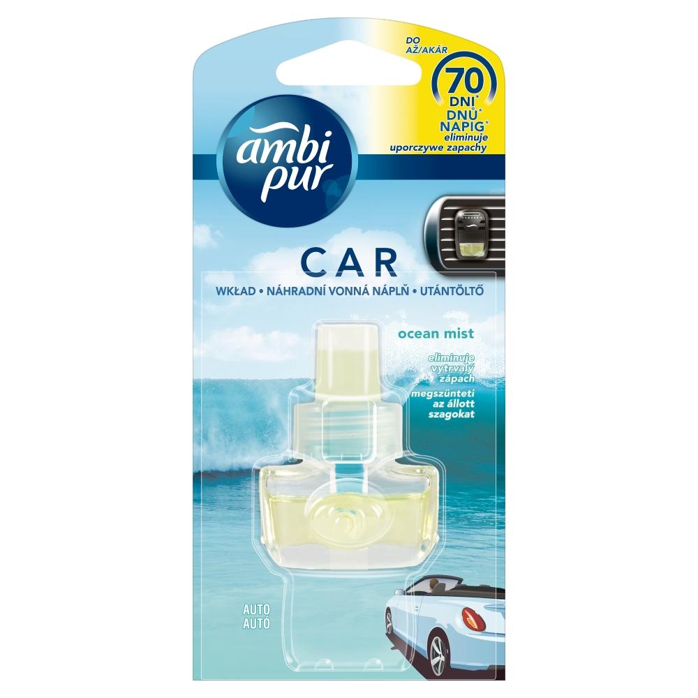 Ambi Pur Car Fresh Escapes Aqua náplň 7 ml