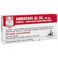 AMBROXOL AL 30 tablety 20 x 30 mg