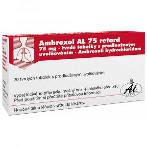 AMBROXOL AL 75 RET.  20X75MG Tobolky