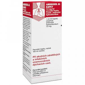 AMBROXOL AL Kapky 750 mg 100 ml