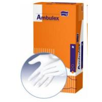 MATOPAT Ambulex rukavice latexové jemně pudrované L 100 ks