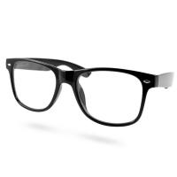 AMERICAN WAY Čtecí brýle Flex černé s kovovým doplňkem +3.00