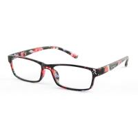 KEEN Čtecí brýle + 2.50 černo-květinové, Počet dioptrií: +2,50