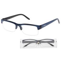 KEEN Čtecí brýle + 2.50 modro-černé s pouzdrem flex, Počet dioptrií: +2,50