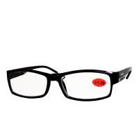 AMERICAN WAY Čtecí brýle Flex černé s kovovým doplňkem +1.50