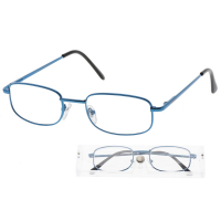 KEEN Čtecí brýle + 2.00 modré v etui, Počet dioptrií: +2,00