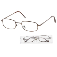 KEEN Čtecí brýle + 2.00 šedohnědé, Počet dioptrií: +2,00