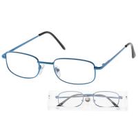 KEEN Čtecí brýle + 2.50 v modré etui, Počet dioptrií: +2,50