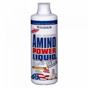 WEIDER Power Liquid komplexní aminokyseliny Brusinka 1000 ml