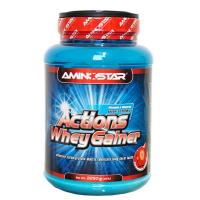 AMINOSTAR Actions whey gainer příchuť jahoda 2250 g