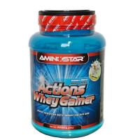 AMINOSTAR Actions whey gainer příchuť vanilka 2250 g