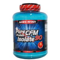 AMINOSTAR Pure CFM protein isolate 90% příchuť jahoda 2000 g