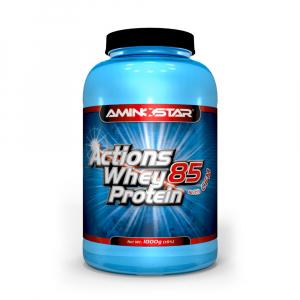 AMINOSTAR Actions Whey Protein 85% 1000 g - Banán