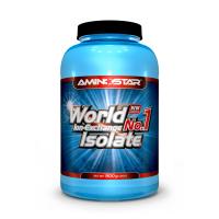 AMINOSTAR World No.1 Isolate 90% 900 g - Čokoláda