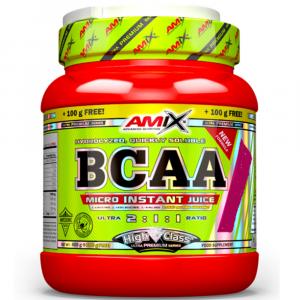 AMIX BCAA Micro instant juice malinová limonáda 500 g