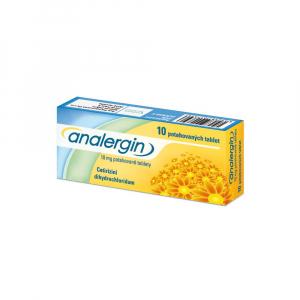 ANALERGIN 10 mg 10 potahovaných tablet