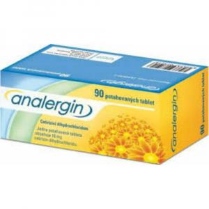 ANALERGIN 10 mg 90 potahovaných tablet