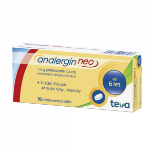 ANALERGIN Neo 5mg 10 tablet