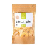 NATU Ananas kroužky 250 g