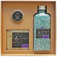 ANGELIC Koupelová sůl Levandulové zklidnění dárková krabička