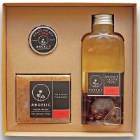 ANGELIC Sprchové olejové Cuvée Růže dárková krabička