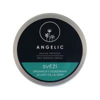 ANGELIC Svěží organický deodorant Zelený čaj&grep 50 ml