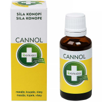 ANNABIS Cannol - konopný olej (masáž, koupel, vlasy) 30 ml