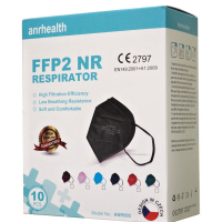 MEIYI FFP2 NR Respirátor barevný mix 10 kusů