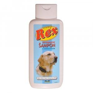REX Antiparazitní šampon s heřmánkem pro psy 250 ml
