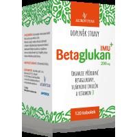 AUROVITAS Betaglukan IMU 200 mg 120 tobolek