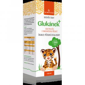 AUROVITAS Glukánek sirup pro děti 150 ml