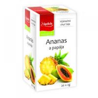 APOTHEKE Ananas a papája 20x2 g
