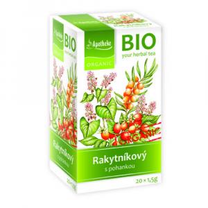 APOTHEKE Rakytníkový čaj s pohankou BIO 20x1,5 g