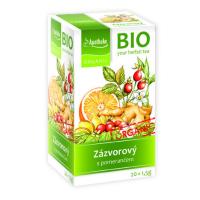APOTHEKE Zázvorový čaj s pomerančem BIO 20x1.5g