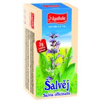 APOTHEKE Šalvěj čaj 20x 2 g sáčků