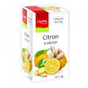 APOTHEKE Citron + zázvor s lípou 20x2 g
