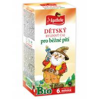 APOTHEKE Dětský bylinný čaj pro běžné pití BIO 20 sáčků