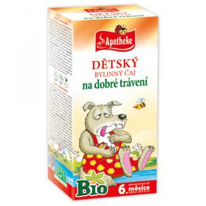 APOTHEKE Dětský čaj BIO dobré trávení 20 sáčků