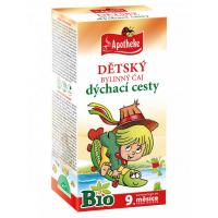 APOTHEKE Dětský čaj na dýchací cesty BIO 20x1,5 g