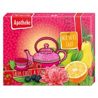 APOTHEKE Dárková kolekce Prémiových čajů 30 sáčků