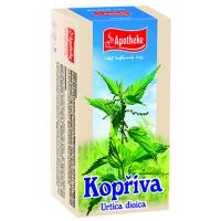 APOTHEKE Kopřiva dvoudomá čaj 20 sáčků