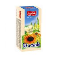 APOTHEKE Krk a mandle čaj 20x1,5 g